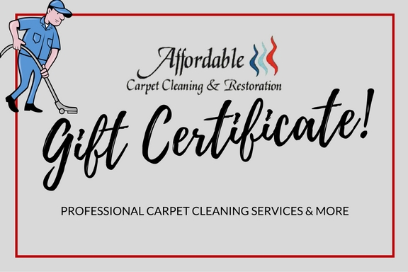 Gift Certificates Available Give The Gift Of A Clean